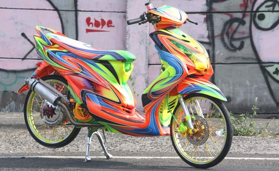 Variasi Warna Motor Yamaha ide